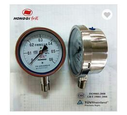 Screw Type Pressure Gauge Stainless Steel Pressure Gauge Pressure Gauge Bar
